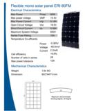ERI 80FM zonnepaneel informatie
