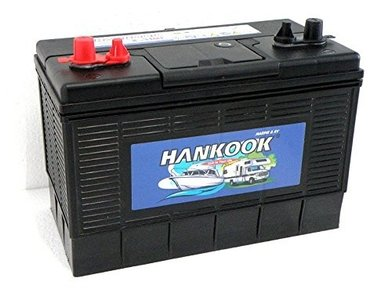 130ah 12 V Hankook Accu
